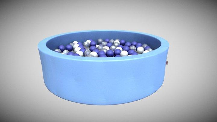 Snugo Motiv Bällebad - Seeperle 3D Model