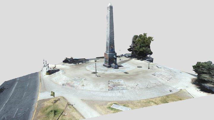 Monumento Balmaceda - Diciembre 8 3D Model
