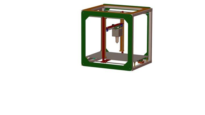 Impresora 3D de Alimentos by Mitsu Jimenez 3D Model