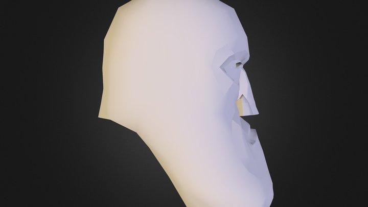 Hunk Face 3D Model