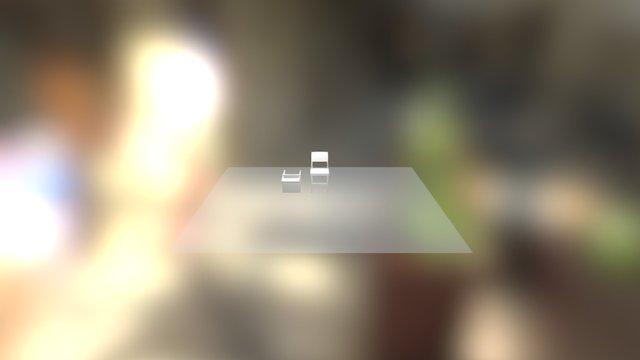 Kursi Kelas 3D Model