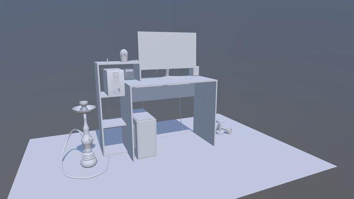 HOMEWORK #1 3D Model
