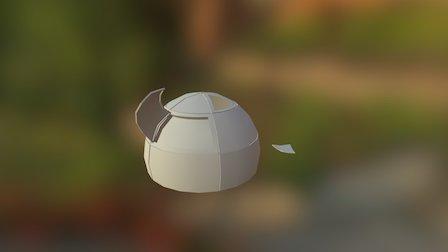Prop Silo Scrap 3D Model