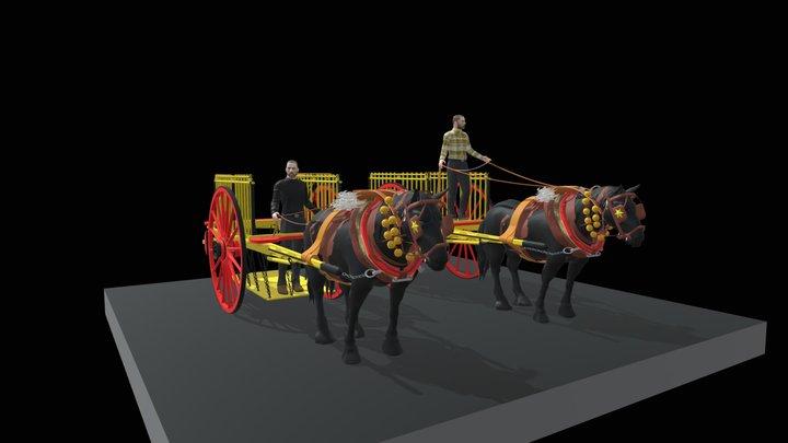 CARROS PAGÈS 3D Model