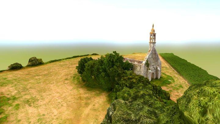 Chapelle et fontaine Sainte-Elisabeth 3D Model