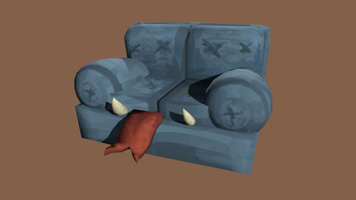 couch mimic 3D Model