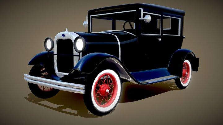 Ford Model A downloadable 3D Model