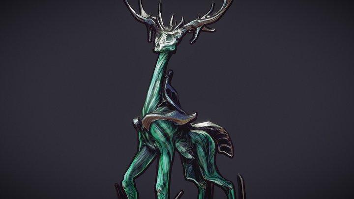 The Ore Elk of Project: Husk 3D Model