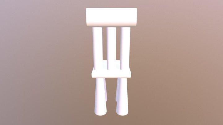 20737椅子 3D Model