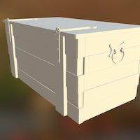 Viking Crate (alternative hinges) 3D Model