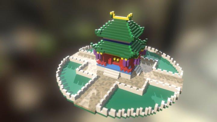 Violent Palace 3D Model