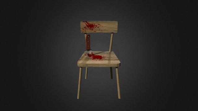 Chair Horror05 3D Model