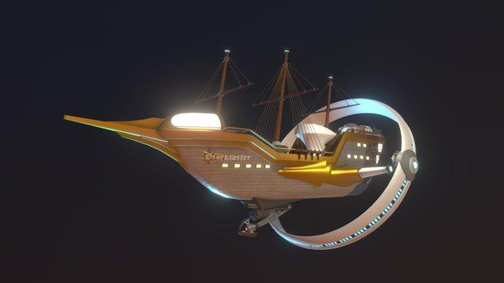 """The Starblaster"" - Adventure Zone 3D Model"