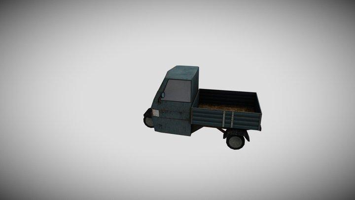 Piaggio 3D Model