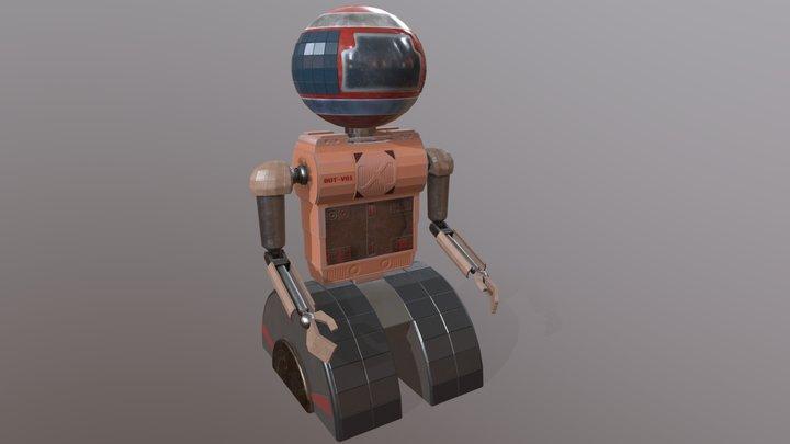 Astro Bot VR-1 3D Model