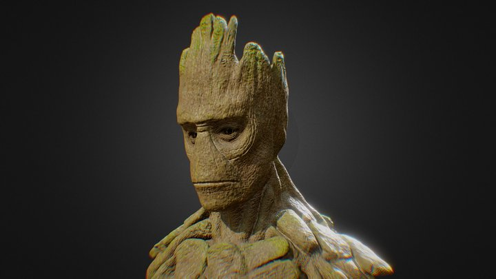Groot - Guardians of the Galaxy 3D Model