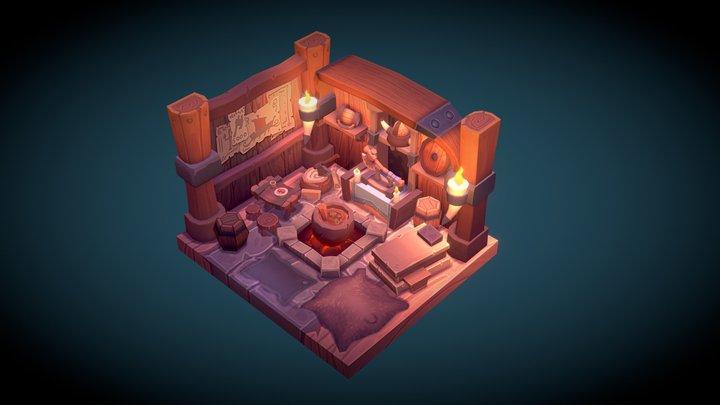 Viking room 3D Model