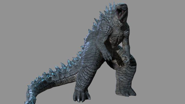 Godzilla2014 fans artwork 3D Model