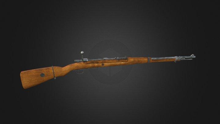 Free Mauser Gewehr 98 3D Model