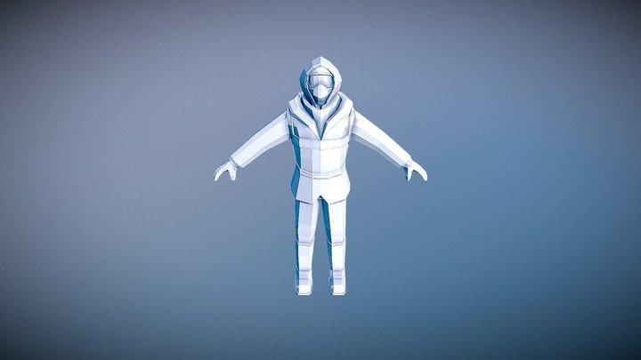 Mountaineer Static Model 3D Model