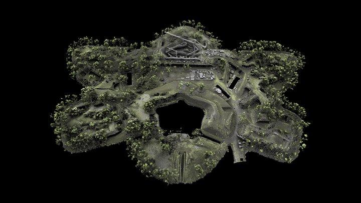 Fort Vechten 3D Model