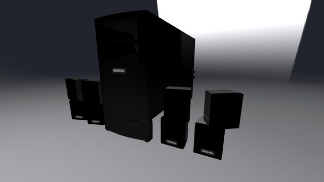 Bose Acoustimass 3D Model