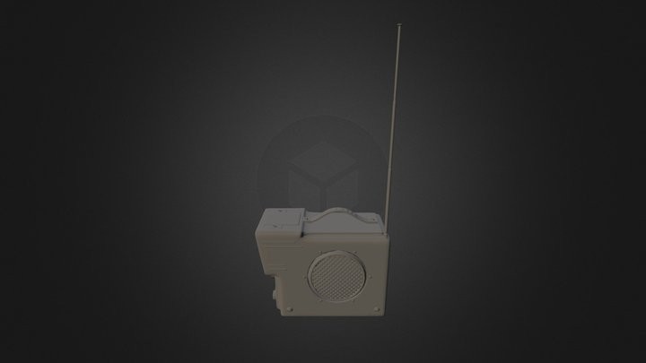 Portable Tv 3D Model