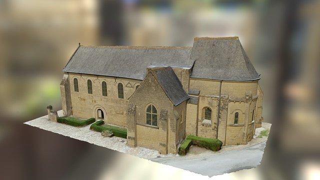 Sanctuaire carolingien 3D Model