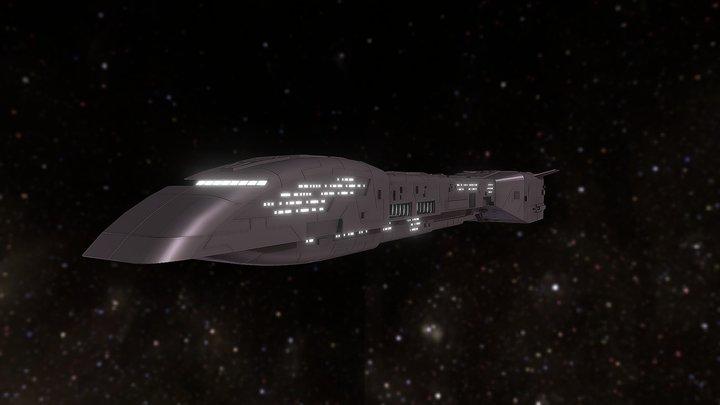 Rebelion Transport 3D Model