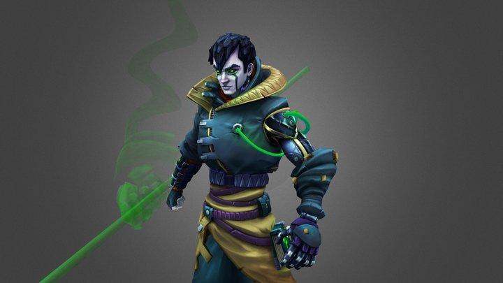 Cyber Reaper 3D Model
