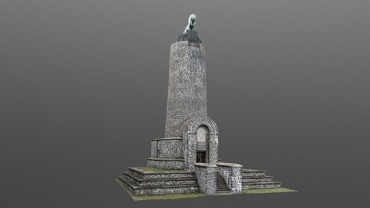 Jubilee Memorial of the Battle of Kulm 3D Model