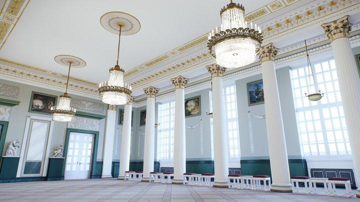 Konzerthaus Berlin: Carl Maria von Weber Hall 3D Model