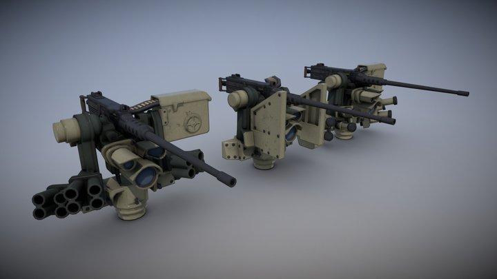 M153 CROWS II (MIXED) 3D Model