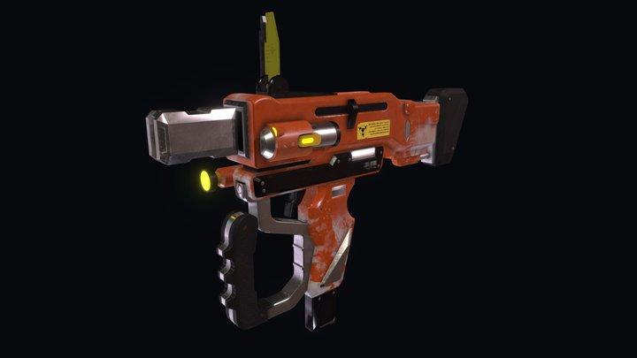 Futuristic Gun   Concept art by Ace Zheng 3D Model