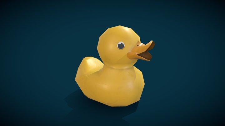 Ducky_MozillaHubs 3D Model