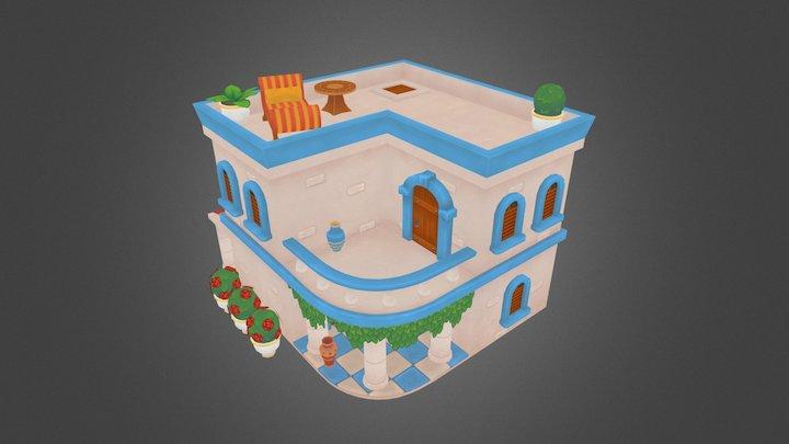Ancient House 3D Model