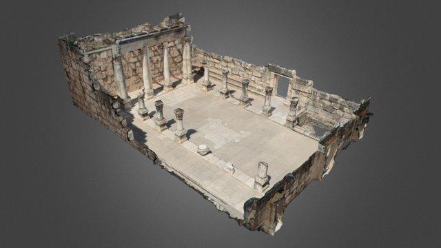 Capernaum Synagogue 3D Model
