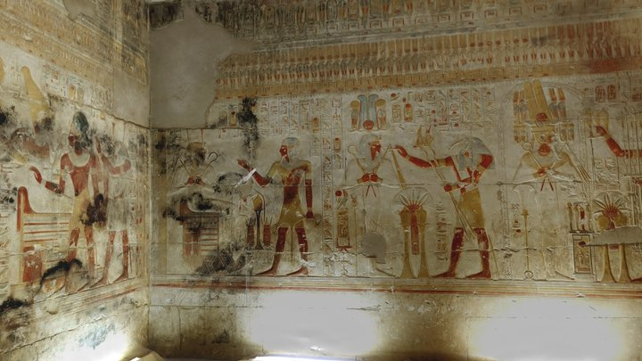 Chapel of Osiris, Temple of Seti I, Abydos 3D Model
