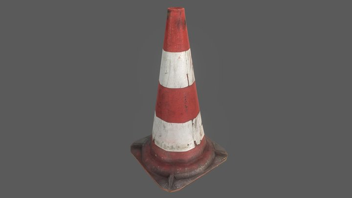 Cone 3D Model