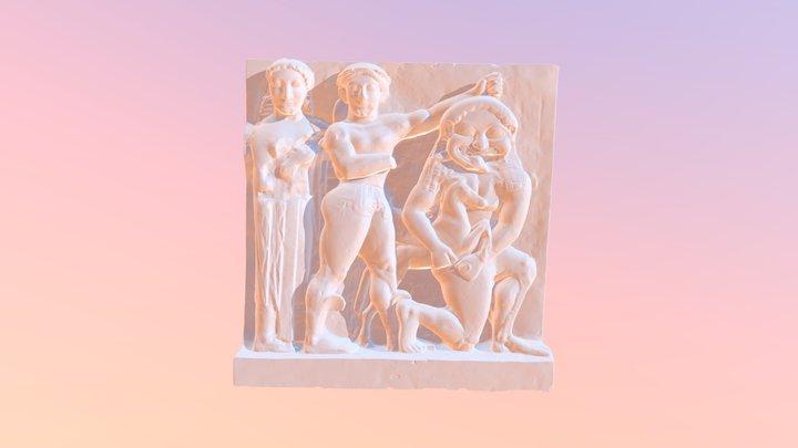 Persée et la Gorgone (Sélinonte) - MuMo Lyon 2 3D Model