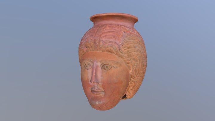 Roman Head Pot (Circa 2000 BC) 3D Model