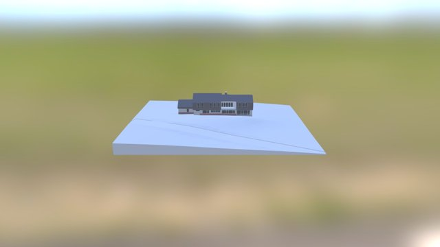 2BC Roof Revised 3D Model