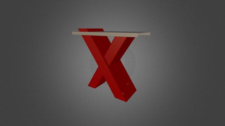 x_table 3D Model