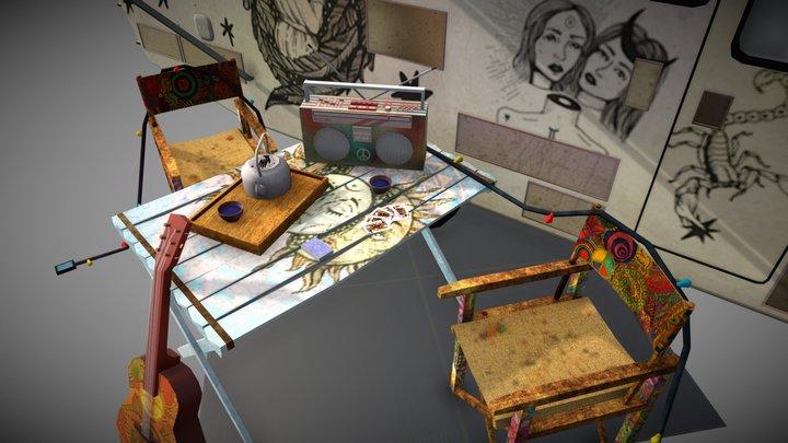 5 Props Assignement 3D Model