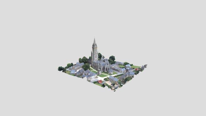 268 - (CHA)G(AR) - Eglise de Quelven 3D Model