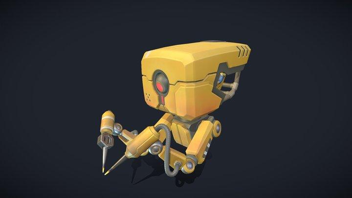 Droid Texturing 02 3D Model