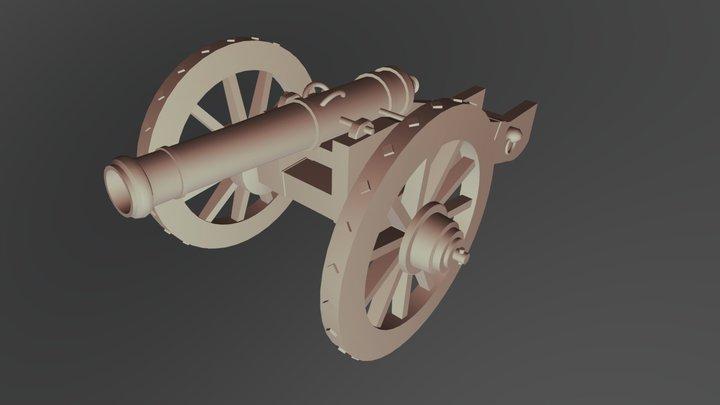 Cannon2 3D Model