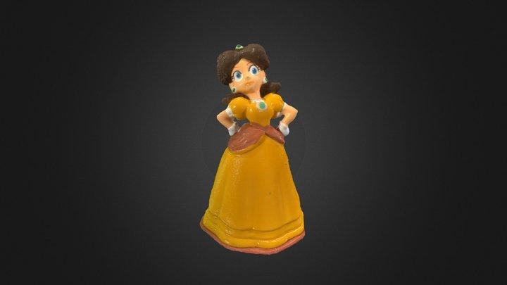 Princess Daisy 3D Model