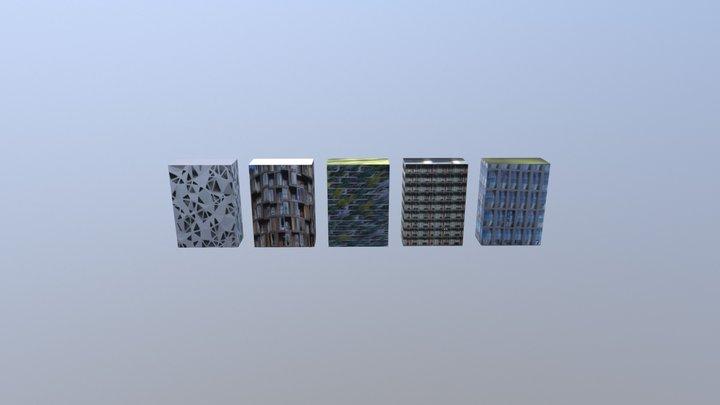 Eigen Ontwerp - Textures test 3D Model