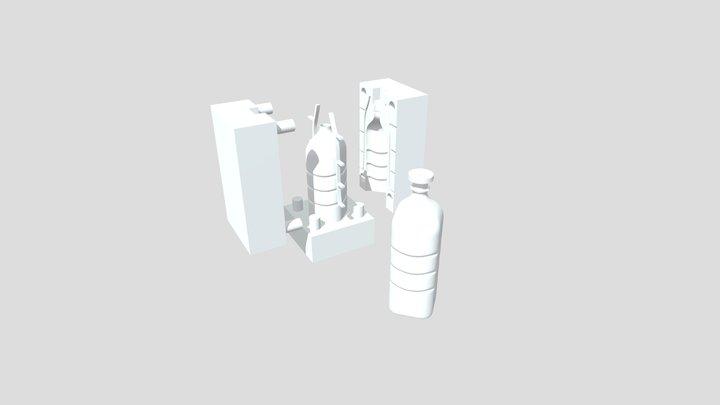 bottle mold 3D Model